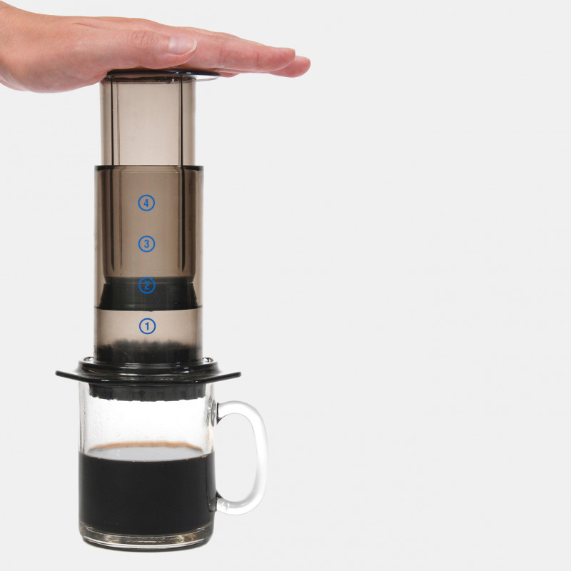 Cafetière piston Aeropress méthodes douces