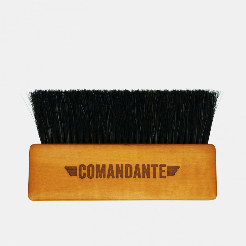 Maxi brosse barista Comandante #2 en bois