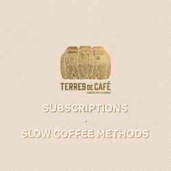 Subscription slow coffee methods - 3 months | Terres de Café