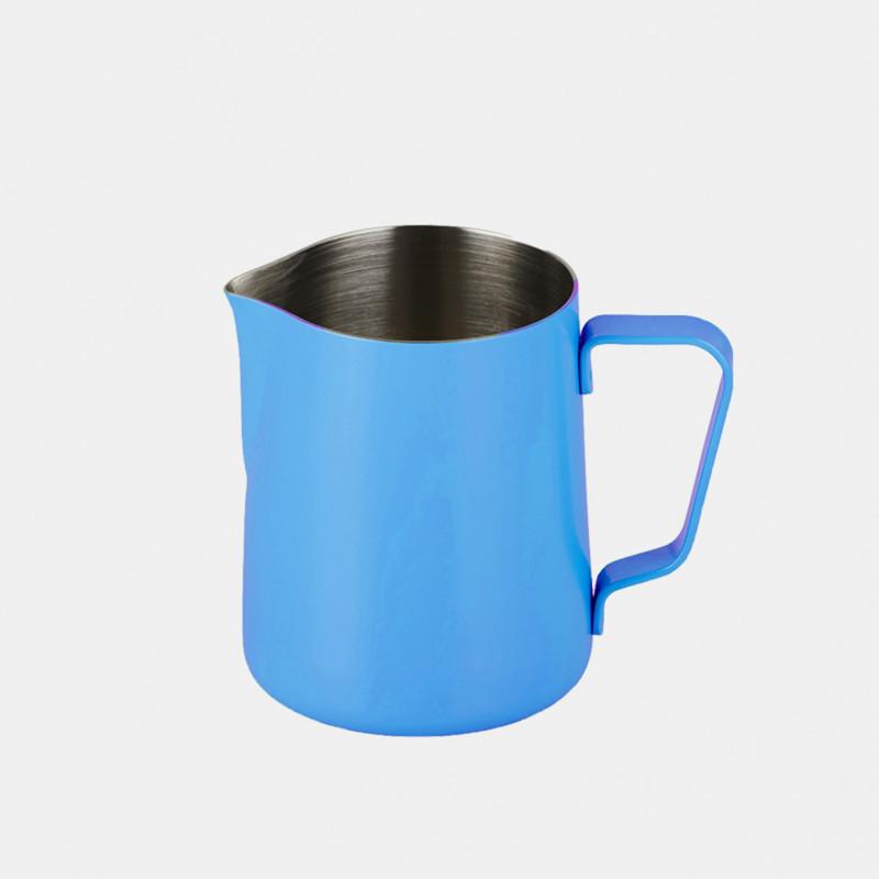 Pichet À Lait en inox 590 ml - Bleu Accessoires Expresso