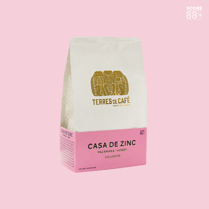 Specialty coffee in beans or ground | Casa de Zinc | Terres de Café
