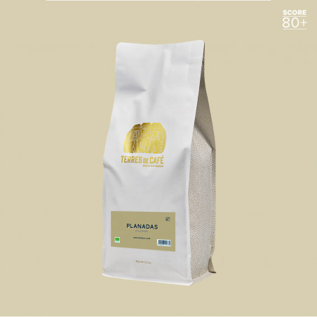 Café de spécialité en grain ou moulu | Volcancito 1 kg| Terres de Café