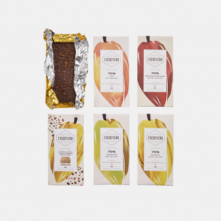 Encuentro Chocolate bars x 5