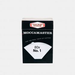 80 filtres n°1 Moccamaster