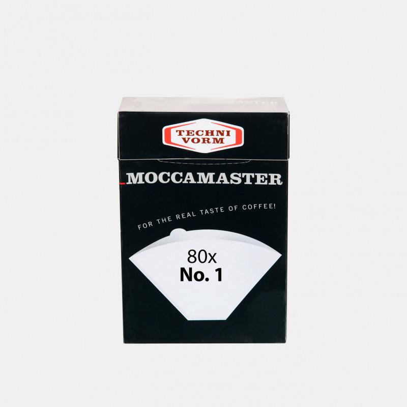 80 filtres n°1 Moccamaster Les filtres à café