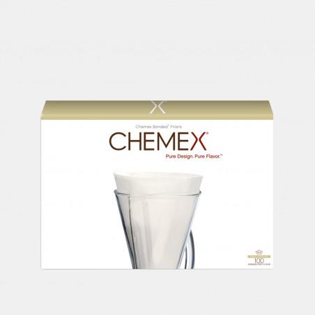 Lot de 100 Filtres pour Chemex - 1-3 Tasses