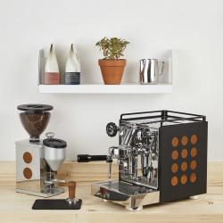 Machine Expresso Appartamento noire/cuivre Machines à café