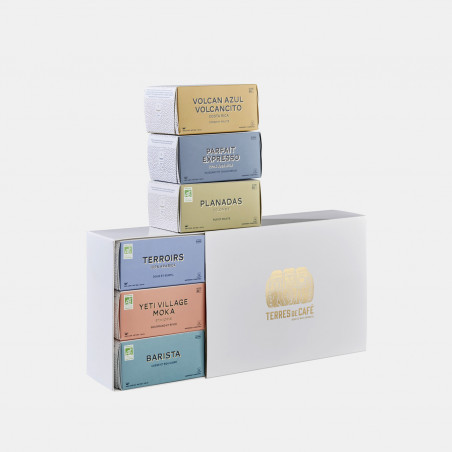 café de spécialité Terres de café - Lot capsules x 6