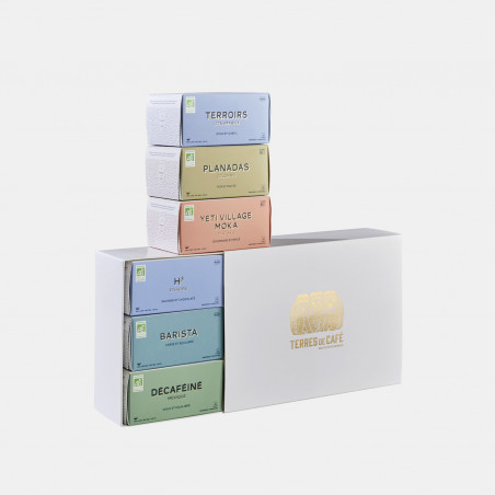 Specialty coffee by Terres de Café - Organic Capsules x 6