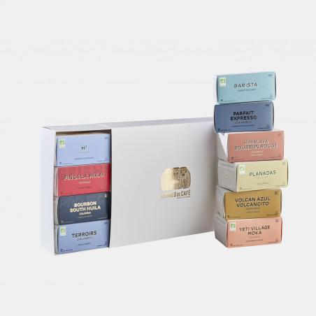 café de spécialité Terres de café - Coffret capsules x 10 Terres de café