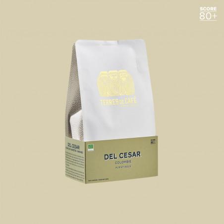 Café de spécialité en grain ou moulu - Del Cesar - Terres de Café