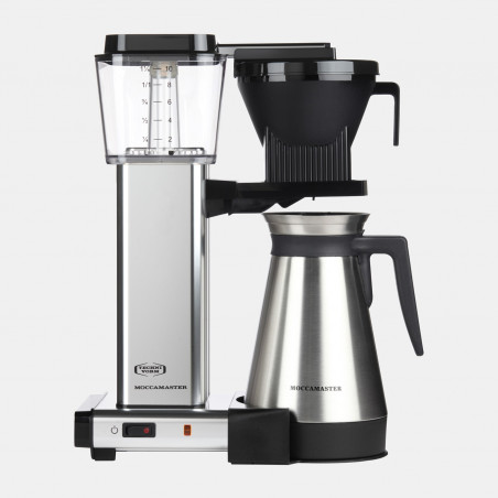 Moccamaster coffee machine KBG SELECT - Polished Silver