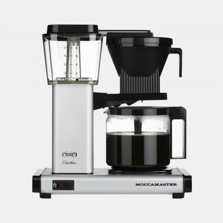Moccamaster coffee machine HBG - Silver