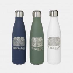 Bouteille Isotherme Terres de Café - Vert