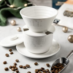 April Pour Over dripper by Patrick Rolf x Seax