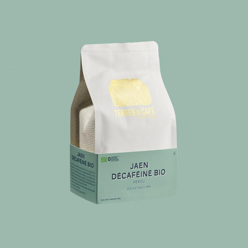 Specialty coffee by Terres de Café - Jaen Organic Decaffeinated
