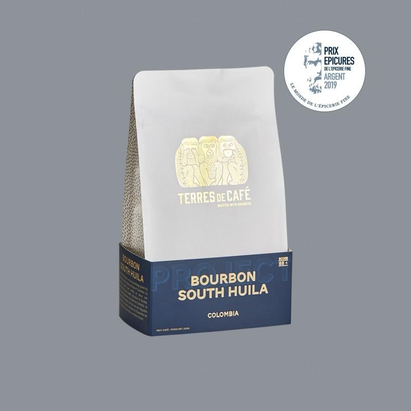 Specialty coffee by Terres de Café - Coffee Bourbon South Huila