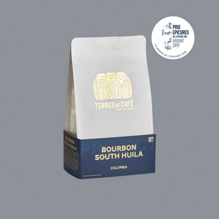 café de spécialité Terres de café - Bourbon South Huila
