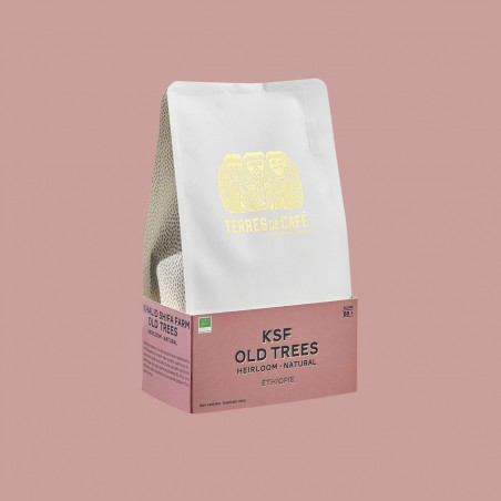 Specialty coffee by Terres de Café - KSF Old Trees