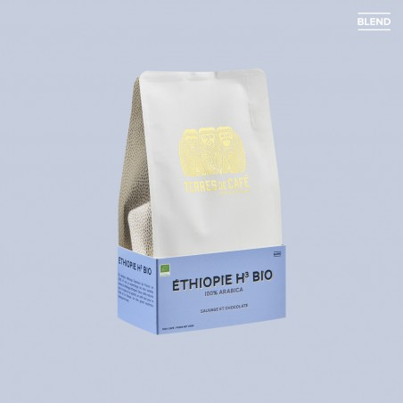 Specialty coffee by Terres de Café - Organic Ethiopie H3