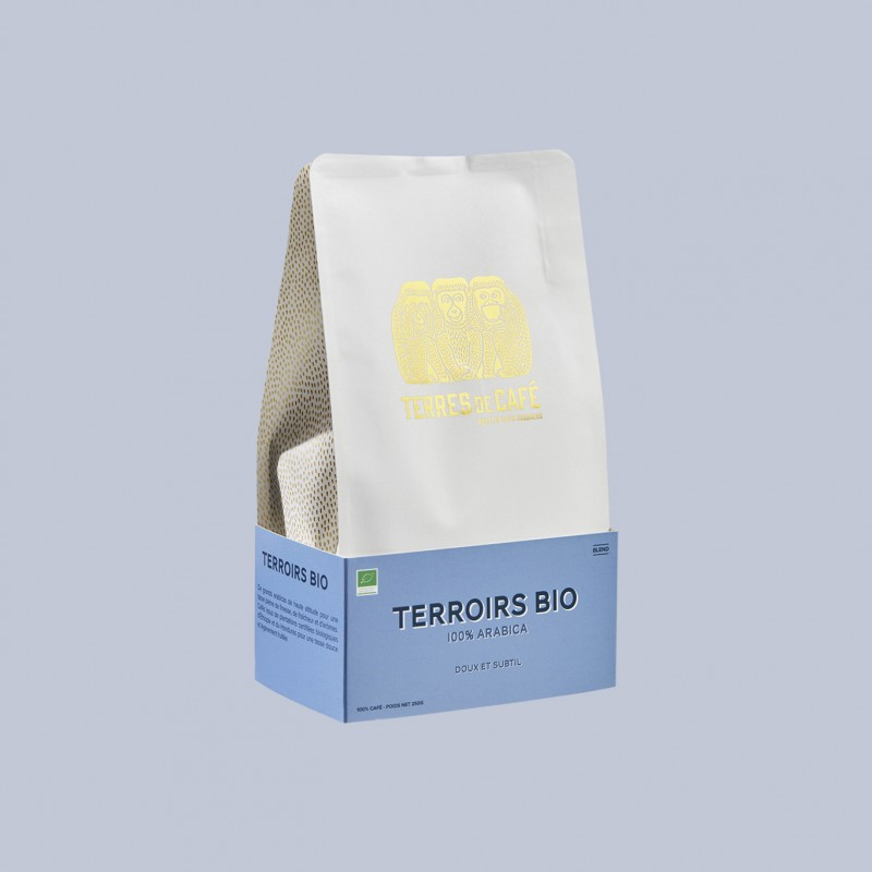 Specialty coffee by Terres de Café - Organic Terroirs