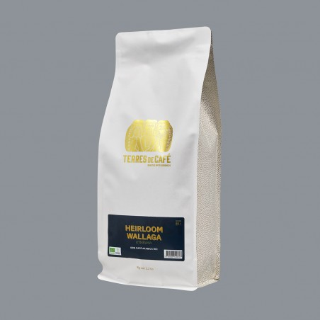 Specialty coffee by Terres de Café - Heirloom Wallaga - 1kg