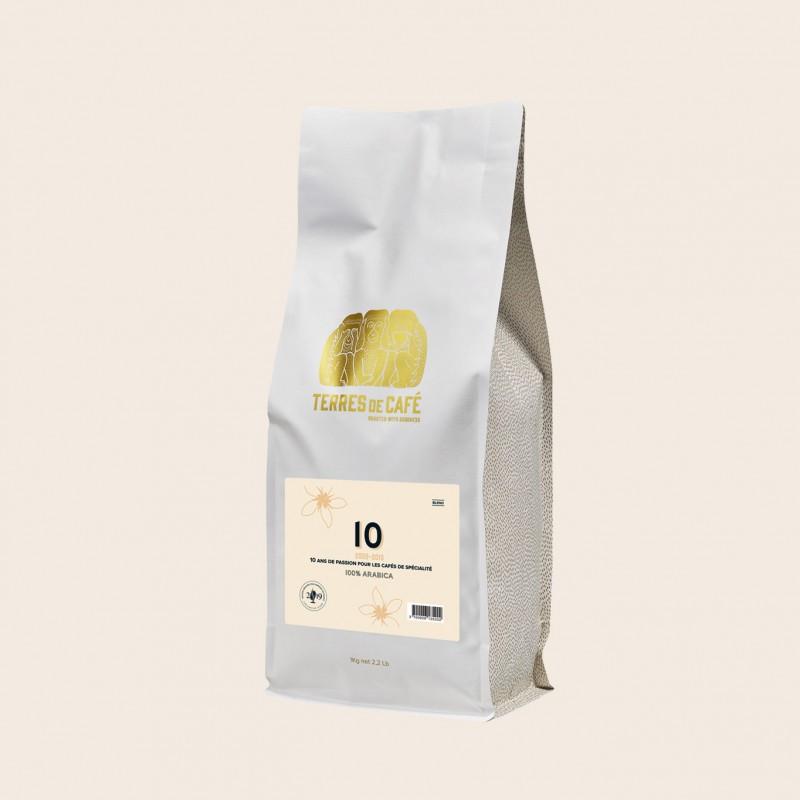 """Specialty coffee by Terres de Café - """"10"""" Blend - KG"""