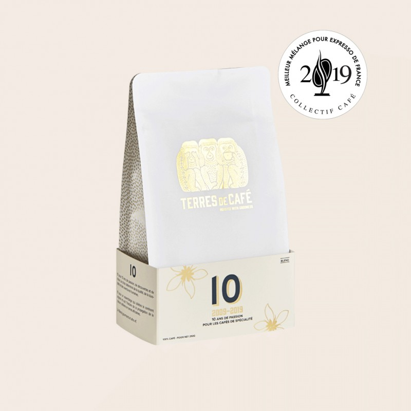 café de spécialité Terres de café - Café 10 Blend