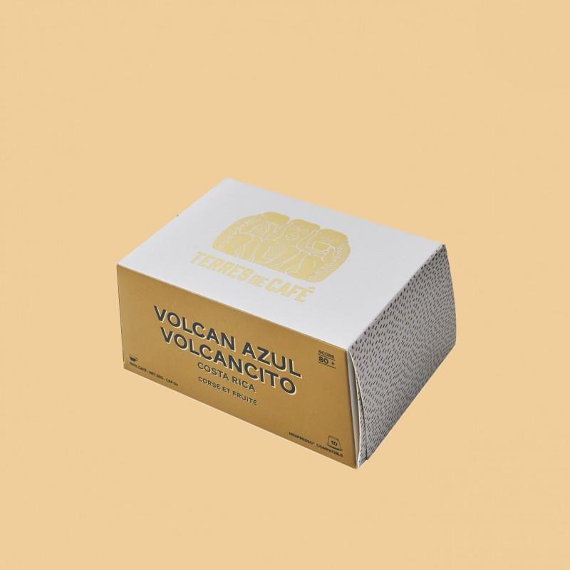 Specialty coffee by Terres de Café - Capsules Volcancito x10
