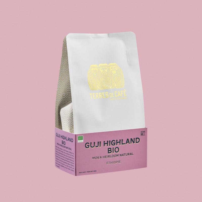 café de spécialité Terres de café - Guji Highland Heirloom Natural Bio