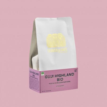 Specialty coffee by Terres de Café - Coffee Guji Highland Heirloom Natural - organic