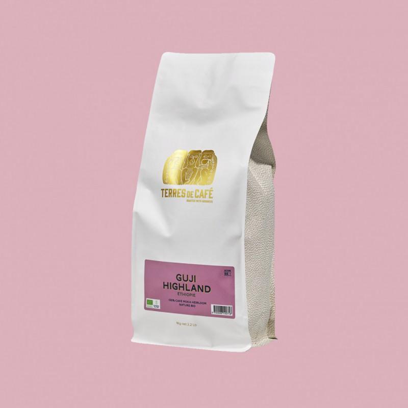café de spécialité Terres de café - Guji Highland Heirloom Natural Bio - 1 kg