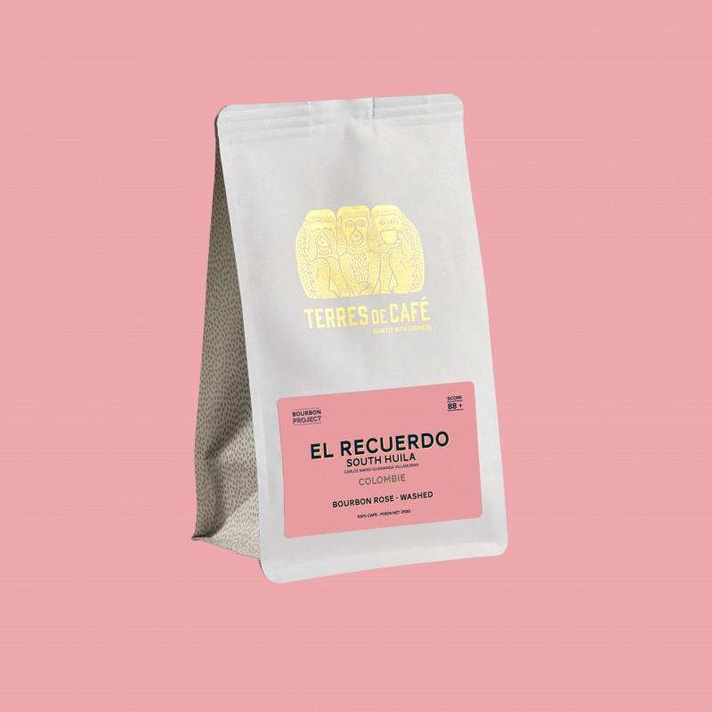 Specialty coffee by Terres de Café - Coffee El Recuerdo - Bourbon Rose fully washed