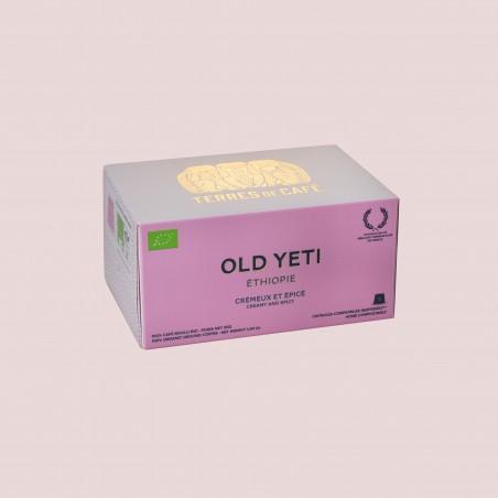 Specialty coffee by Terres de Café - Organic Old Yeti capules x10