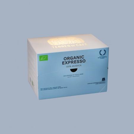 café de spécialité Terres de café - Capsules organic expresso x 10