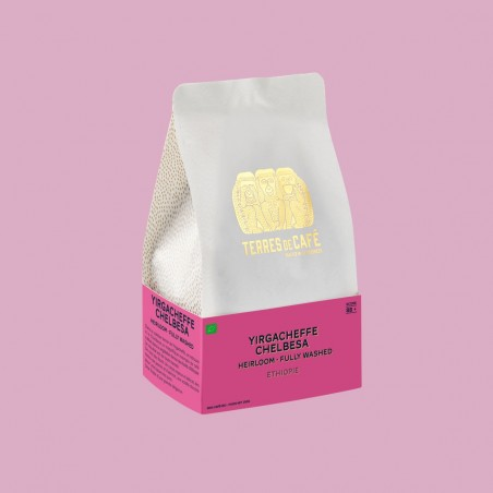 Specialty coffee by Terres de Café - Coffee Yirgacheffe Chelbesa Heirloom - fully washed