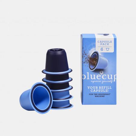 Bluecup reusable pods (compatible Nespresso)