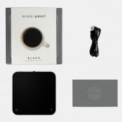 Pearl digital scale - Black - Terres de café