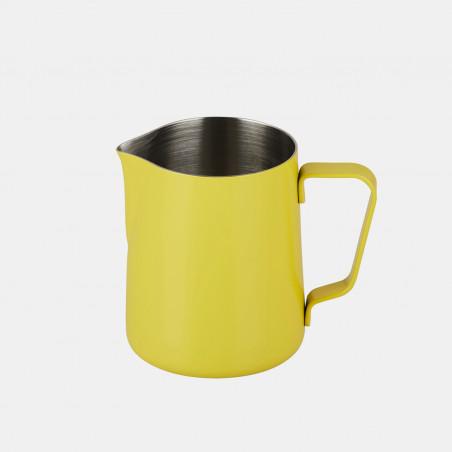 Pichet à lait en inox, pichet à lait jaune, pichet rouge, pichet Joe Frex, pichet Concept art