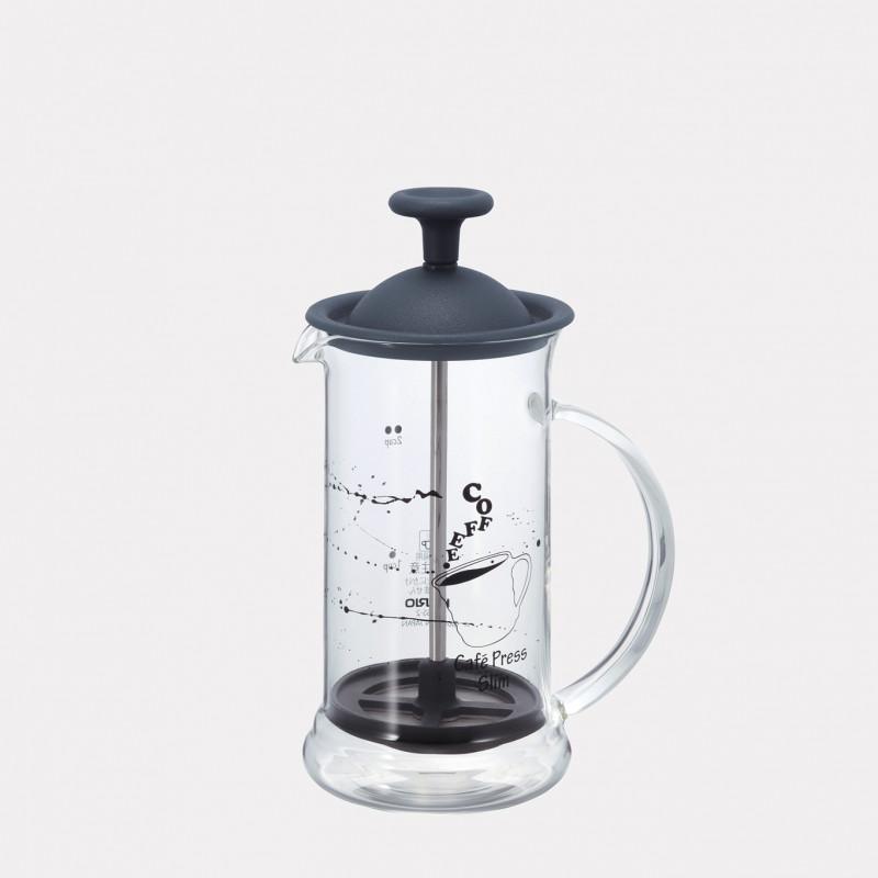 Cafetière à piston, french press, hario, cafetière à piston hario cafetière piston 250ml cafetière à piston deux tasses