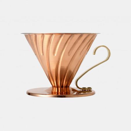 Hario copper dripper - Terres de café
