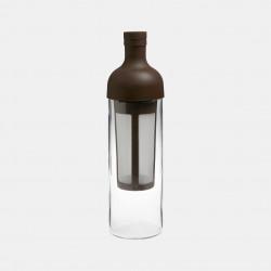 Bouteille Filtrante pour infusions à froid- 650 ml - Marron Accessoires Méthodes douces