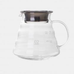 Carafe en Verre T02 - 2/5 Tasses HARIO Accessoires Méthodes douces