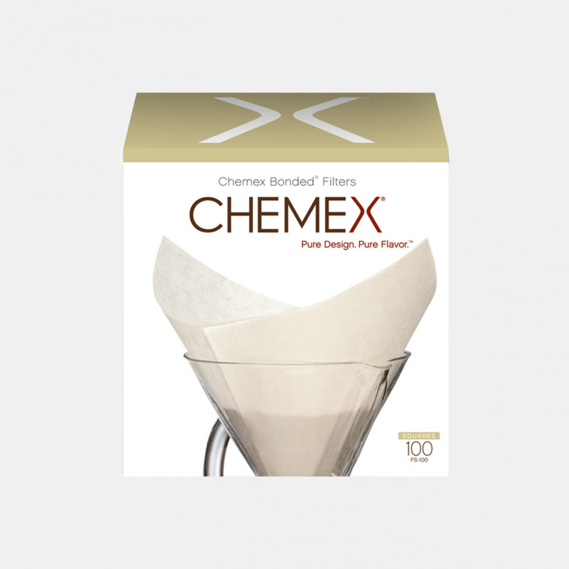 100 Chemex bonded filters - 6 to 8 cups