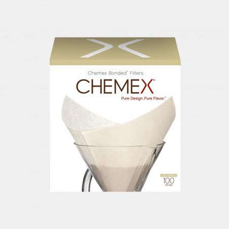 Lot de 100 Filtres pour Chemex - 6-8 Tasses