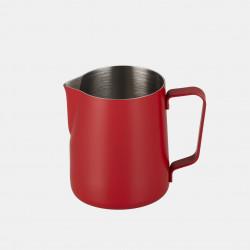 Pichet à Lait Rouge en Inox - 350 ml | JoeFrex