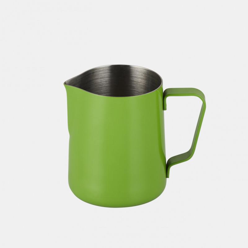 Pichet à Lait Vert en Inox - 350 ml | JoeFrex