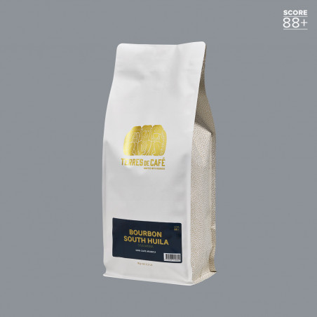 Specialty coffee in beans or ground | Bourbon South Huila 1 kg | Terres de Café