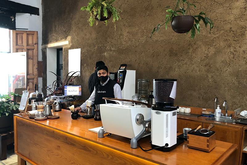 Coffee shop Cafeologo