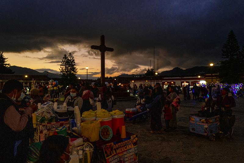 San Cristobal de Las Casas. Place du marché